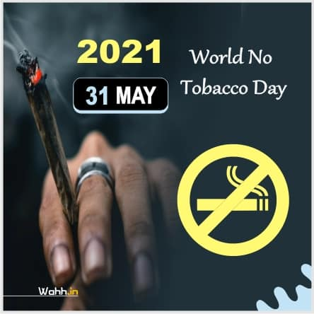 2021 World No Tobacco Day Slogans Images