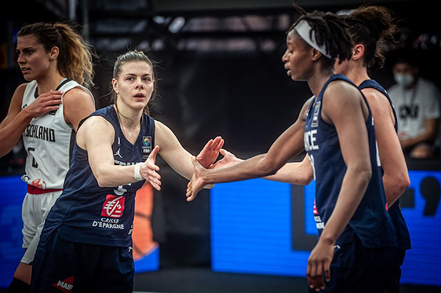 França no basquete 3x3 feminino