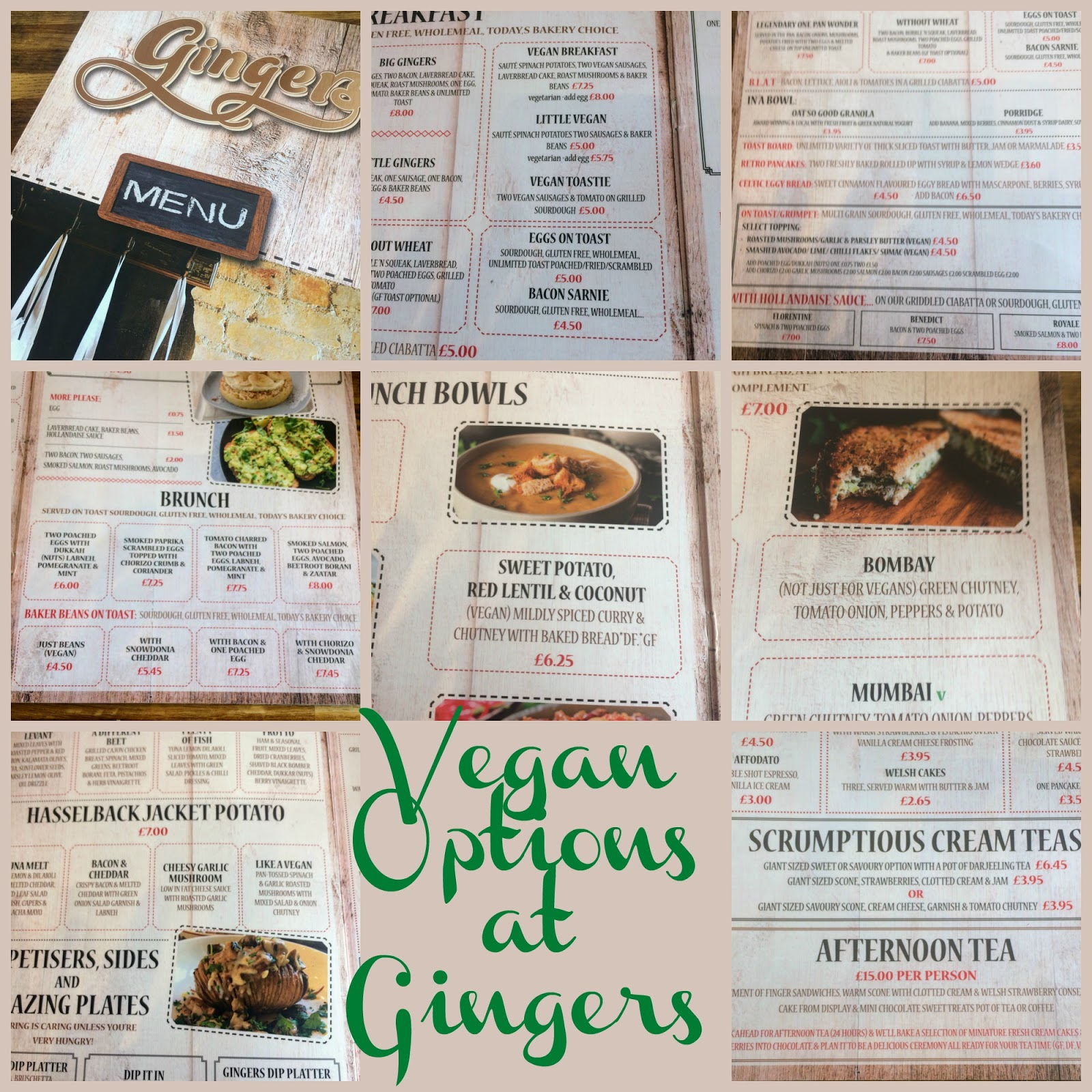 , A Vegan Breakfast at Gingers Coffee Shop, Pembrokeshire