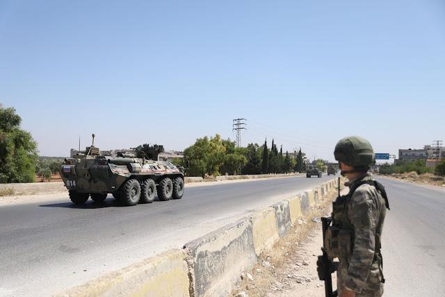 اشتداد التوترات العسكرية بين الولايات المتحدة وروسيا في سوريا والجو وعلى الأرض في جميع أنحاء العالم