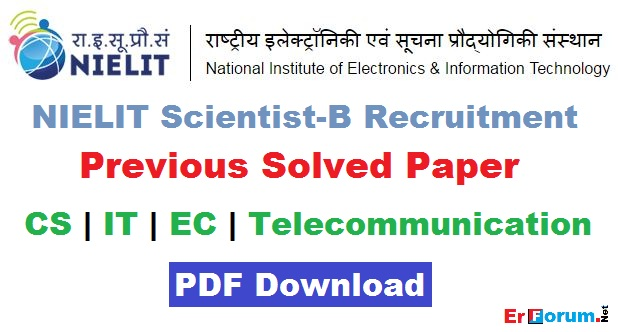 nielit-solved-paper-scientist-B