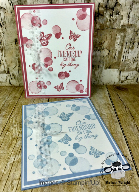 Card, Beauty Abounds, Rococo Rose, Clean & Simple, Seaside Spray