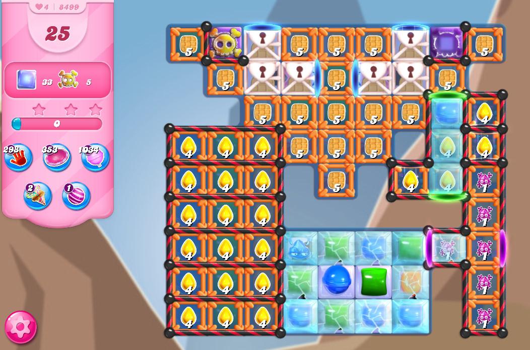 Candy Crush Saga level 8499