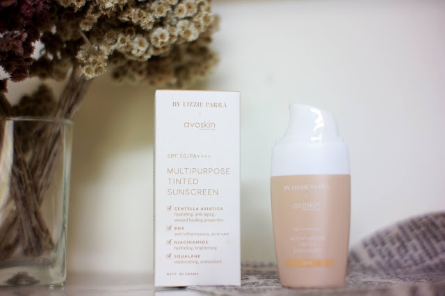 Review Multipuporse Tinted Sunscreen