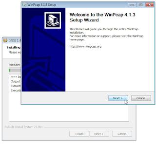 Instalasi WinPcap GNS3 untuk Simulasi Jaringan Mikrotik