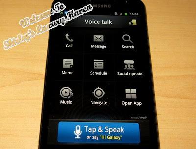 samsung galaxy note voice talk