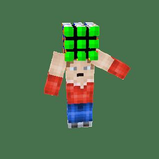Rubik Cube Minecraft Skin