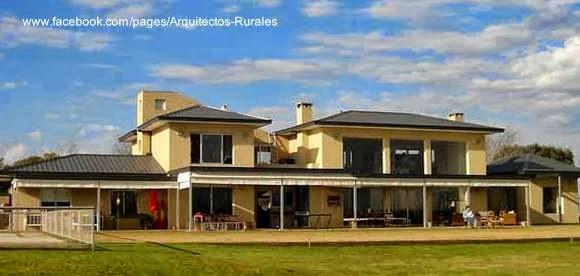 Casa contemporánea de campo en Argentina