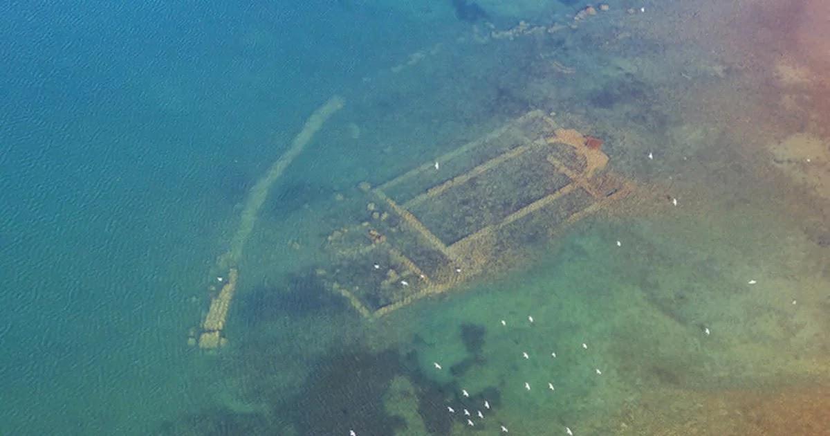 Submerged 1,500 Year Old Basilica Is Discovered Beneath Lake Iznik In Turkey