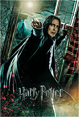 Harry Potter Severus Snape 3D Lenticular Card
