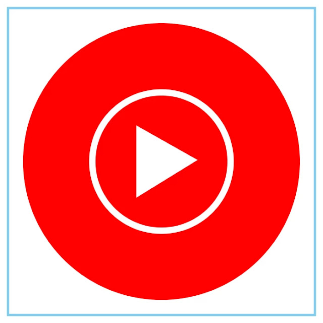 Youtube Music Icon - Free Download File Vector CDR AI EPS PDF PNG SVG
