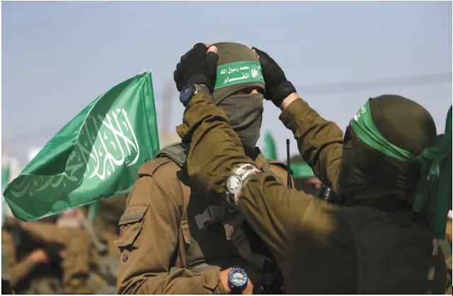 Gaza Terrorist Groups Organize a Big Military Exercise