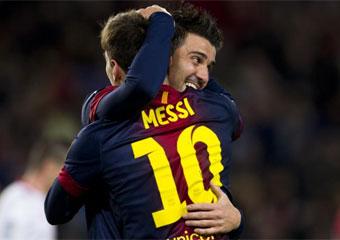 El Barcelona gana 3-1 Al Rayo Vallecano