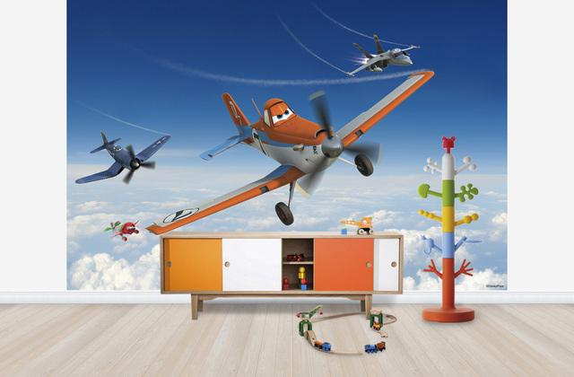 Lastenhuoneen 3D tapetit Disney Lentsikat Tapetti