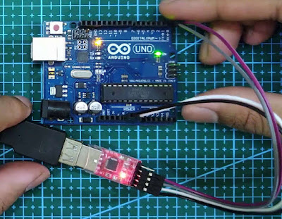 directly upload a sketch to Arduino UNO using USB to TTL Module