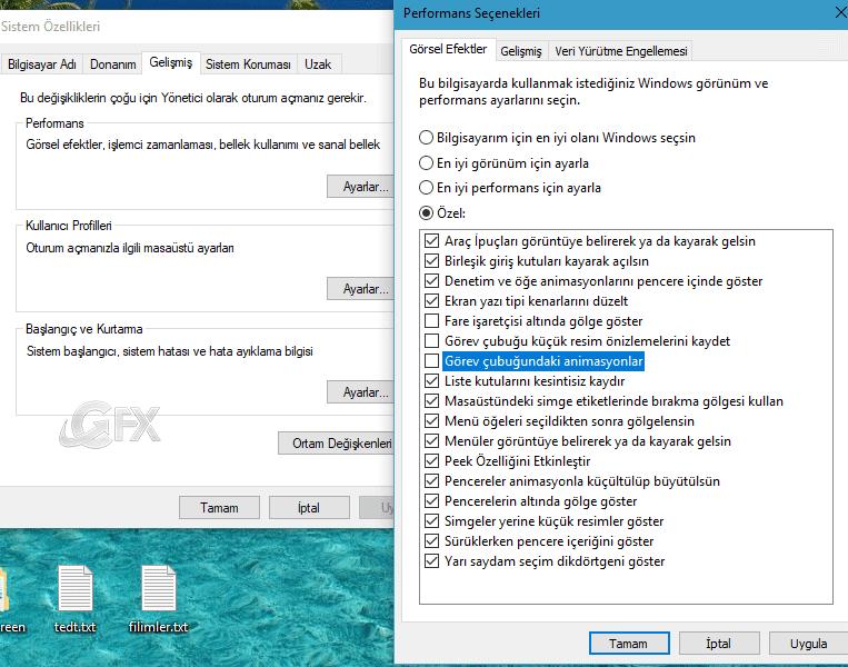 Sistem özellikleri penceresi -www.ceofix.com
