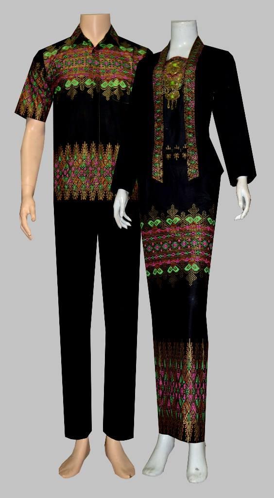 Batik Bagoes Solo Baju Batik Gamis Sarimbit Atas Bawah