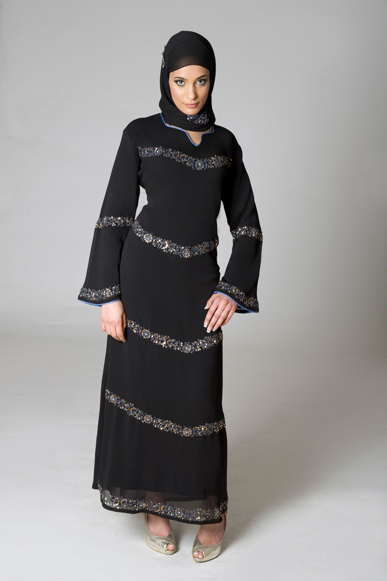A Fashion Hub: Abaya Trends 2012,Latest Abaya Collection