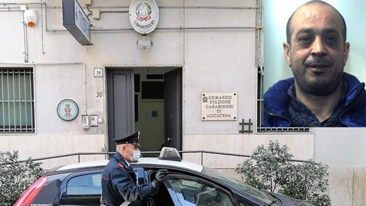 48enne arrestato per mafia