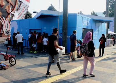 pintu masuk 6 Gelora Bung Karno (GBK)
