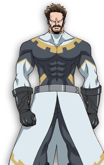 Jiro Saito como Zash Caine, ministro de estado del reino de Stella
