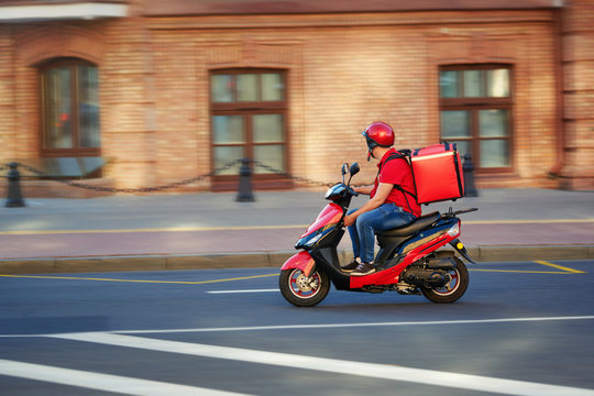Livreurs express motos