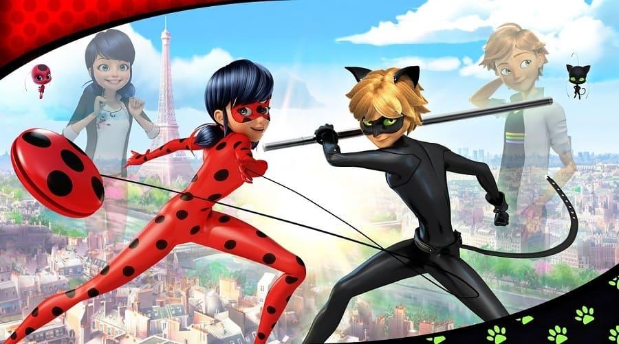 Miraculous - As Aventuras de Ladybug 2018 Desenho 720p HD HDTV completo Torrent