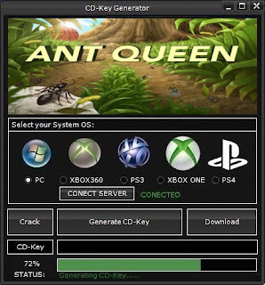 Ant Queen Key Generator (Free CD Key)