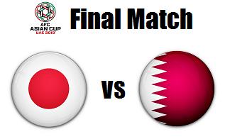 Japan versus Qatar
