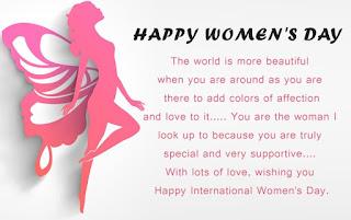 international women's day message