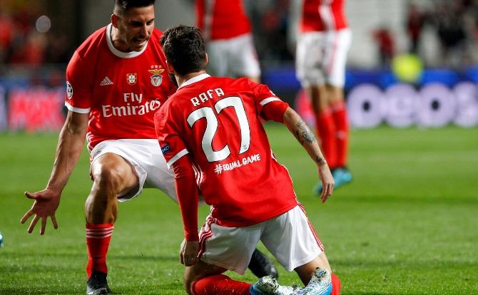 Benfica golo de Rafa