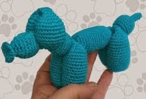 http://www.ravelry.com/patterns/library/balloon-dog-2