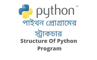 Structure of python program Bangla