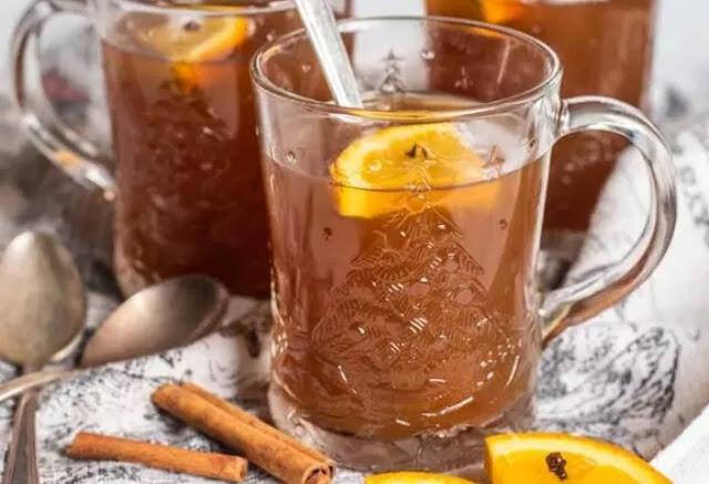 Citrus Spiced Russian Tea #drinks #tea