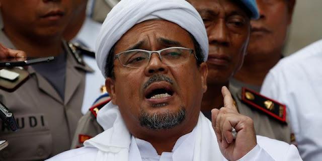 Habib Rizieq Tolak Minta Ampunan Jokowi