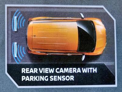 Gambar Rear View Camera With Parking Sensor