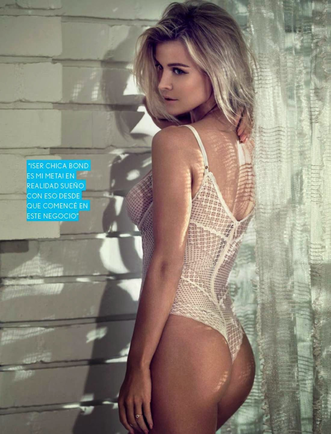 Joanna Krupa gets seductive for Maxim Mexico March 2015