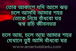 Chole Aye Amar Sohor Lyrics