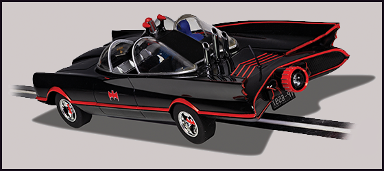 The 1966 Version of the Batmobile - 2
