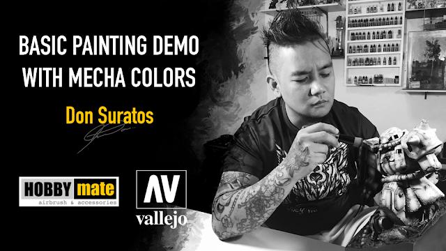 TETSUJIN 2020 Vallejo painting Demo Photo