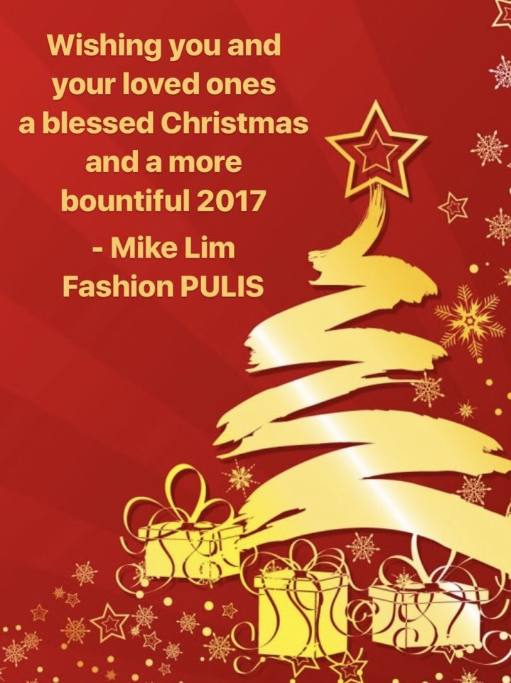 Merry Christmas Fashion PULIS Readers!
