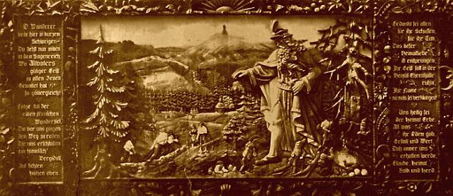 Eine kopie des Bildes aus der Exhrenhalle des Altvaterturmers (Habsburkwarte)