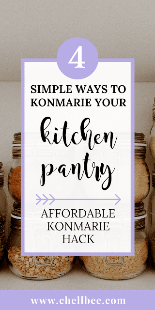 KonMari Pantry | Learn how to apply the KonMari method and organize your pantry. These tips are perfect for those new to the KonMari or interested in finding out what KonMari even means. pantries | kitchens | organized pantry | pantry storage | kitchen pantry organization | pantry organization ideas