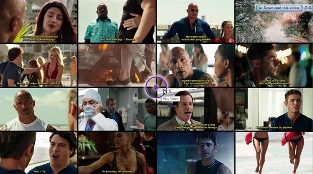 Screenshots Download Film Gratis Baywatch (2017) BluRay 480p MP4 Subtitle Indonesia 3gp