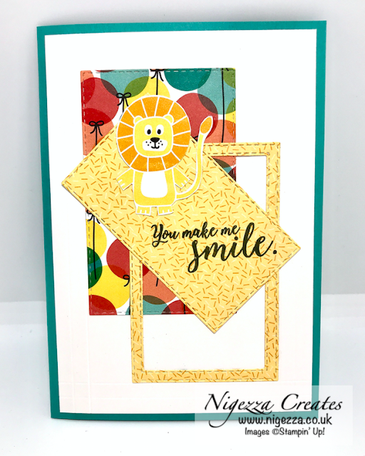 Nigezza Creates with Stampin' Up! and Birthday Bonanza