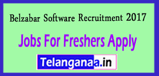 Belzabar Software Recruitment 2017 Jobs For Freshers Apply