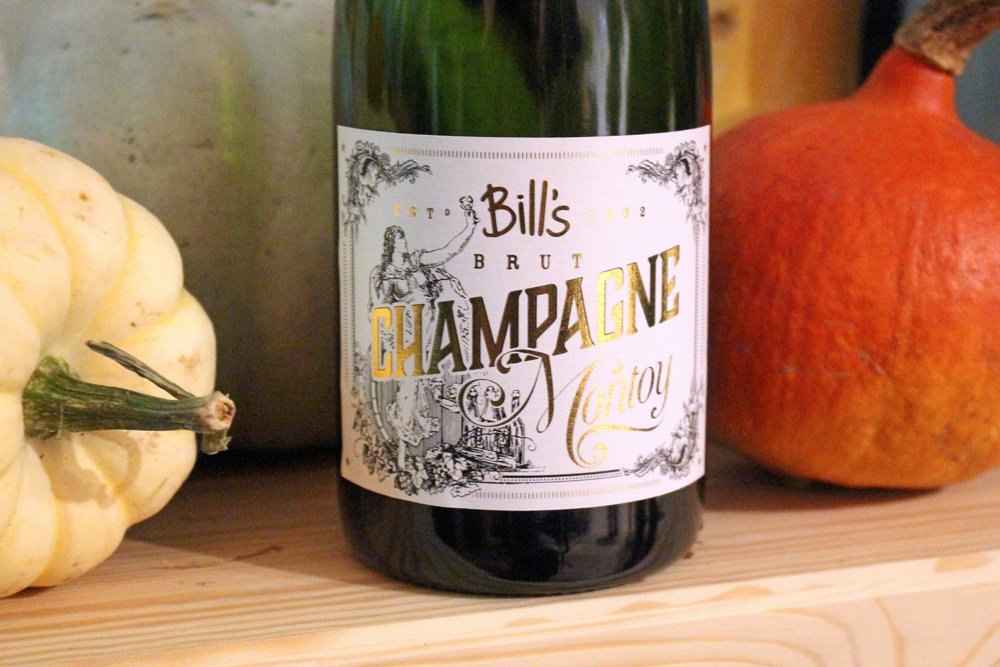 Bill's Champagne at Bill's Restaurant Dinner - UK lifestyle blog