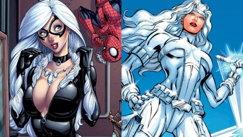 Marvel Studios, Marvel Comics,Silver And Black