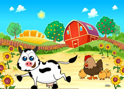 المزارع و الحيوانات