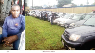 Notorious Car-Snatcher Nabbed With 12 Cars, Confesses